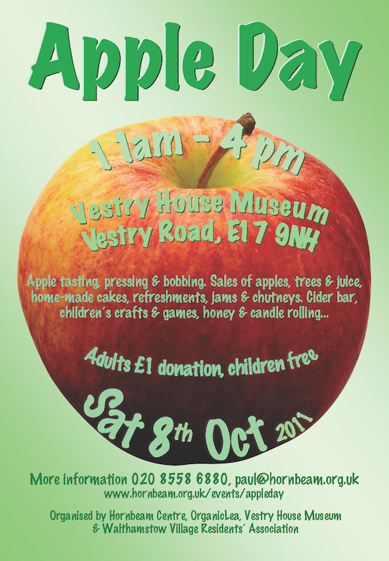 Apple Day poster reduced size